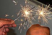 Lesiones por pirotecnia en las fiestas de fin de año