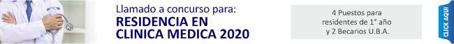 RESIDENCIA MÉDICA 2020